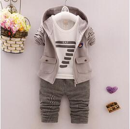 BibiCola Brand Kids baby Clothing Set for Boys Autumn Cotton Fashion Boy Set Suits Children baby Clothes Sports Casual Sets - go-sale-now
