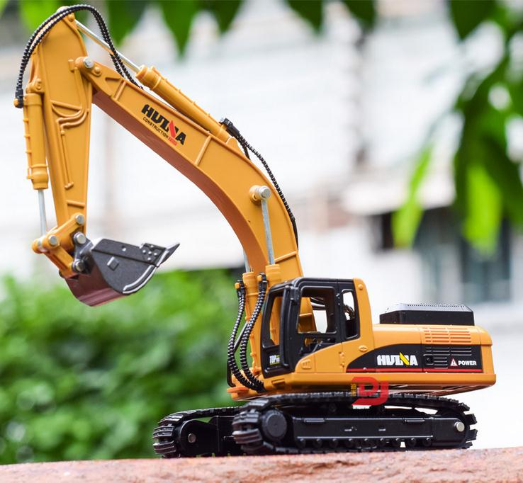 high simulation alloy engineering vehicle model, 1: 50 alloy excavator toys, metal castings, toy vehicles, free shipping - go-sale-now
