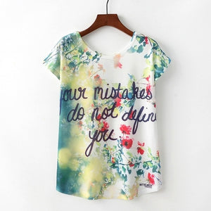 KaiTingu Summer Novelty Women T Shirt Harajuku Kawaii Cute Style Nice Cat Print T-shirt New Short Sleeve Tops Size M L XL - go-sale-now