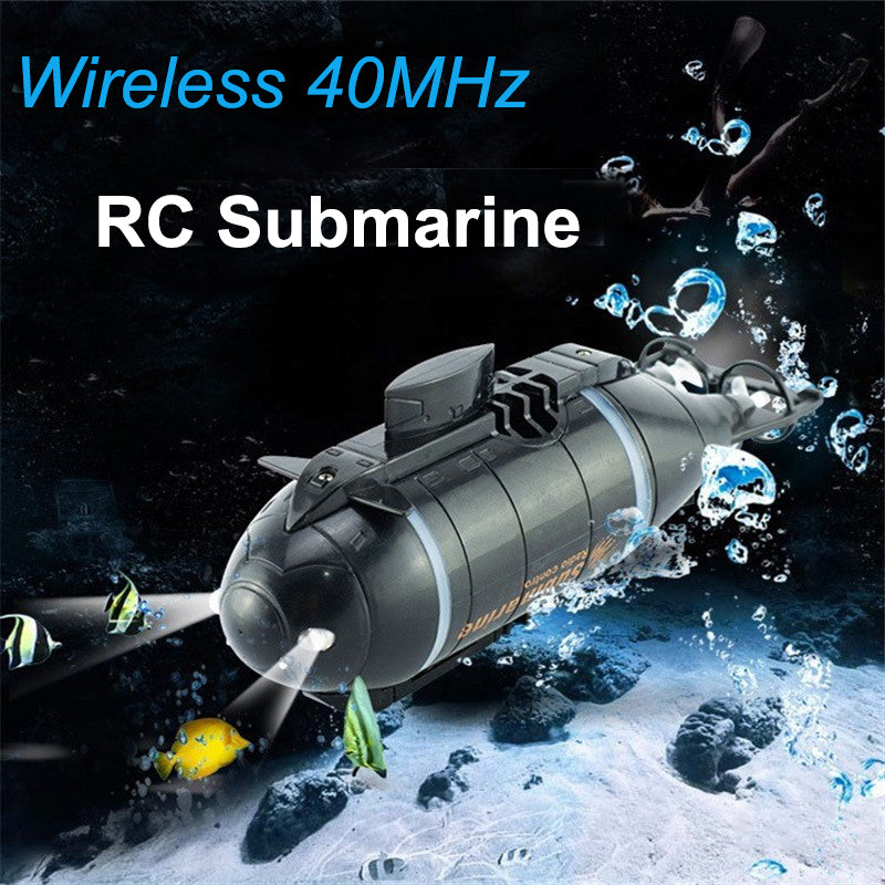 Mini RC Submarine 777-216 RC Speed Racing boats Outdoor Adventure Pigboat Model With 40MHz RC Transmitter Toy Gifts For Kids - go-sale-now