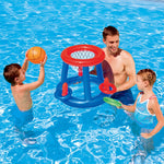 Inflatable Swim Pool Football Goal Basketball Game Water Sports Swim Pool Float Children Party Game Toy Water Accessory Handball - go-sale-now