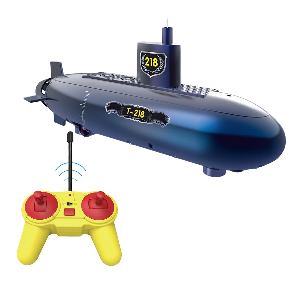 Funny RC Mini Submarine 6 Channels Remote Control Under Water Ship RC Boat Model Kids Educational Stem Toy Gift For Children - go-sale-now