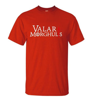 hot sale Game of Thrones Valar Morghulis Printes T-shirt 2019 Summer Fashion Casual Short Sleeve O-neck Men T shirts 100% Cotton - go-sale-now