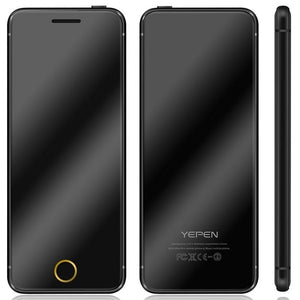 "Original Phone YEPEN N2 Ulcool V66+ Luxury Mini Ultrathin Card Cell Phone With MP3 Bluetooth 1.67""inch Mobile Phone - go-sale-now"