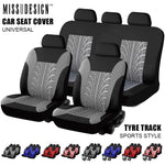 Universal Fashion Styling Full set and 2 front seats Car Seat Protector Auto Interior Accessories Automobile Car Seat Cover - go-sale-now