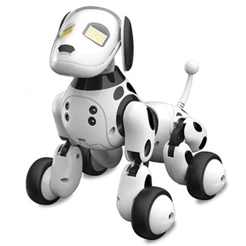 Intelligent RC Robot Dog Toy Smart Electronic Pets Dog Kids Toy Cute Animals RC Intelligent Robot Gift Children Birthday Present - go-sale-now