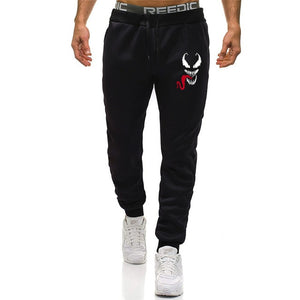 Fall Brand Joggers Venom Pants Men Cool Comic Originality Black Sweatpants Men Gyms Muscle Fitness Workout Bodybuilding Pant - go-sale-now