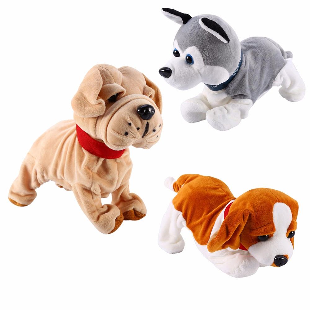 Sound Control Electronic Dogs Interactive Electronic Pets Robot Dog Bark Stand Walk Electronic Toys Dog For Kids Baby gifts - go-sale-now