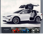 1:32 Alloy Car Model Tesla MODEL X90 Metal Diecast Toy Vehicles Car With Pull Back Flashing Musical Gift For Children's Race Car - go-sale-now