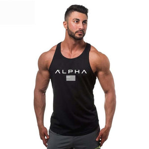 Bodybuilding Men Summer Fitness bodybuilding Hooded Tank Top fashion mens Crossfit clothing Loose breathable sleeveless shirts - go-sale-now