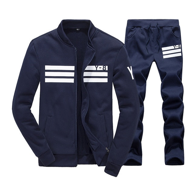 BOLUBAO New Winter Tracksuits Men Set Thicken Hoodies + Pants Suit Spring Sweatshirt Sportswear Set Male Hoodie Sporting Suits - go-sale-now