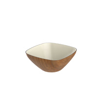 Load image into Gallery viewer, ROBEX | Square Bowl 22 cm | Mahogany Banana - LONDØNWORKS