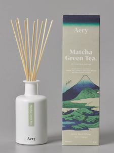 AERY | Matcha Green Tea Reed Diffuser | Citrus Precious Woods - LONDØNWORKS
