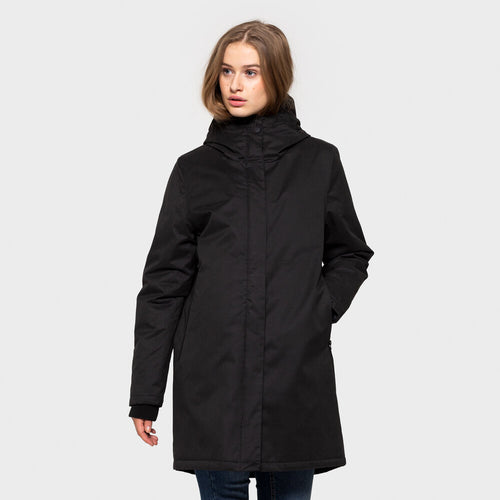 SELFHOOD | 77133 Women Parka Jacket | Black - LONDØNWORKS