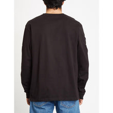 Load image into Gallery viewer, VOLCOM | Deadly Stone Long Sleeves T-Shirt | Black - LONDØNWORKS