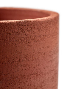 SERAX | Plant Pot Cylinder Small | Red - LONDØNWORKS