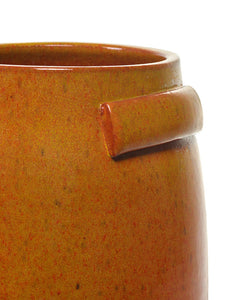 SERAX | Plant Pot Tabor Medium | Orange - LONDØNWORKS