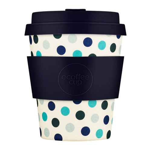 ECOFFEE | Blue Polka | 8oz / 240ml - LONDØNWORKS
