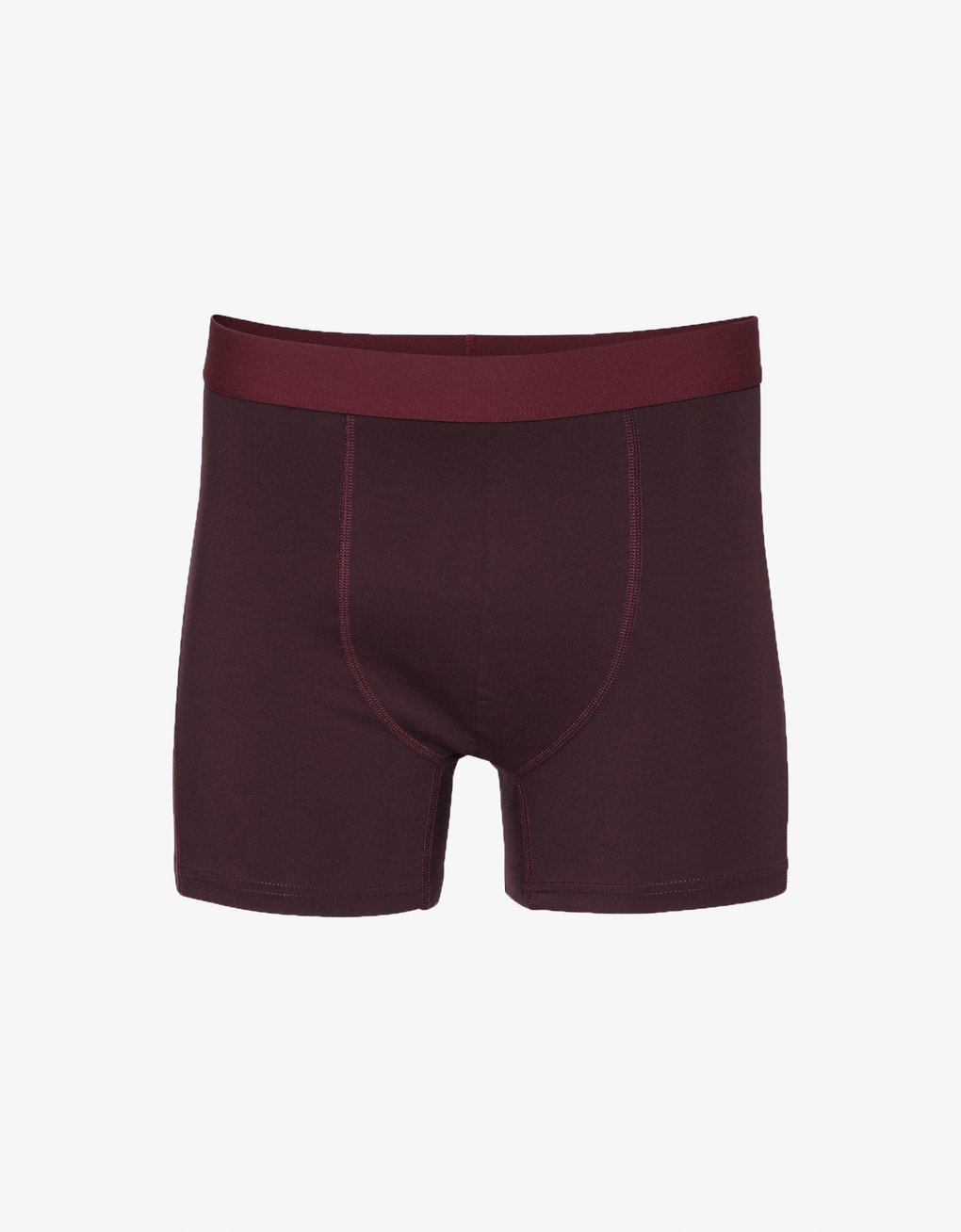 COLORFUL STANDARD | Organic Boxershorts Briefs | Oxblood Red - LONDØNWORKS