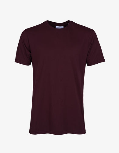 COLORFUL STANDARD | Classic Organic T-shirt | Oxblood Red - LONDØNWORKS