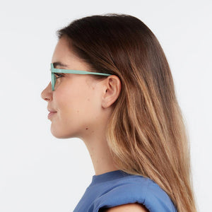 BARNER | Le Marais Blue Light Glasses | Military Green - LONDØNWORKS