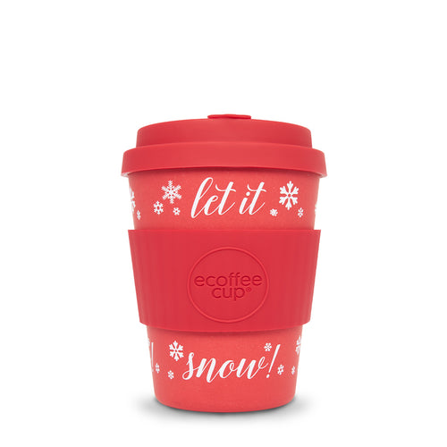 ECOFFEE | Cup Let it Snow | Red