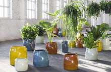 Load image into Gallery viewer, SERAX | Plant Pot Tabor Medium | Orange - LONDØNWORKS