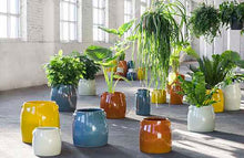 Load image into Gallery viewer, SERAX | Plant Pot Tabor Small | Orange - LONDØNWORKS