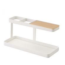 Load image into Gallery viewer, YAMAZAKI | Tower Desk Bar Organizer | White - LONDØNWORKS