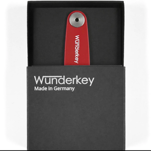 WUNDERKEY | Wunderkey Classic Key Holder | Red - LONDØNWORKS