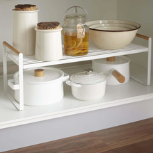 Load image into Gallery viewer, YAMAZAKI | Tosca Shelving Unit- Kitchen Storage Rack - LONDØNWORKS
