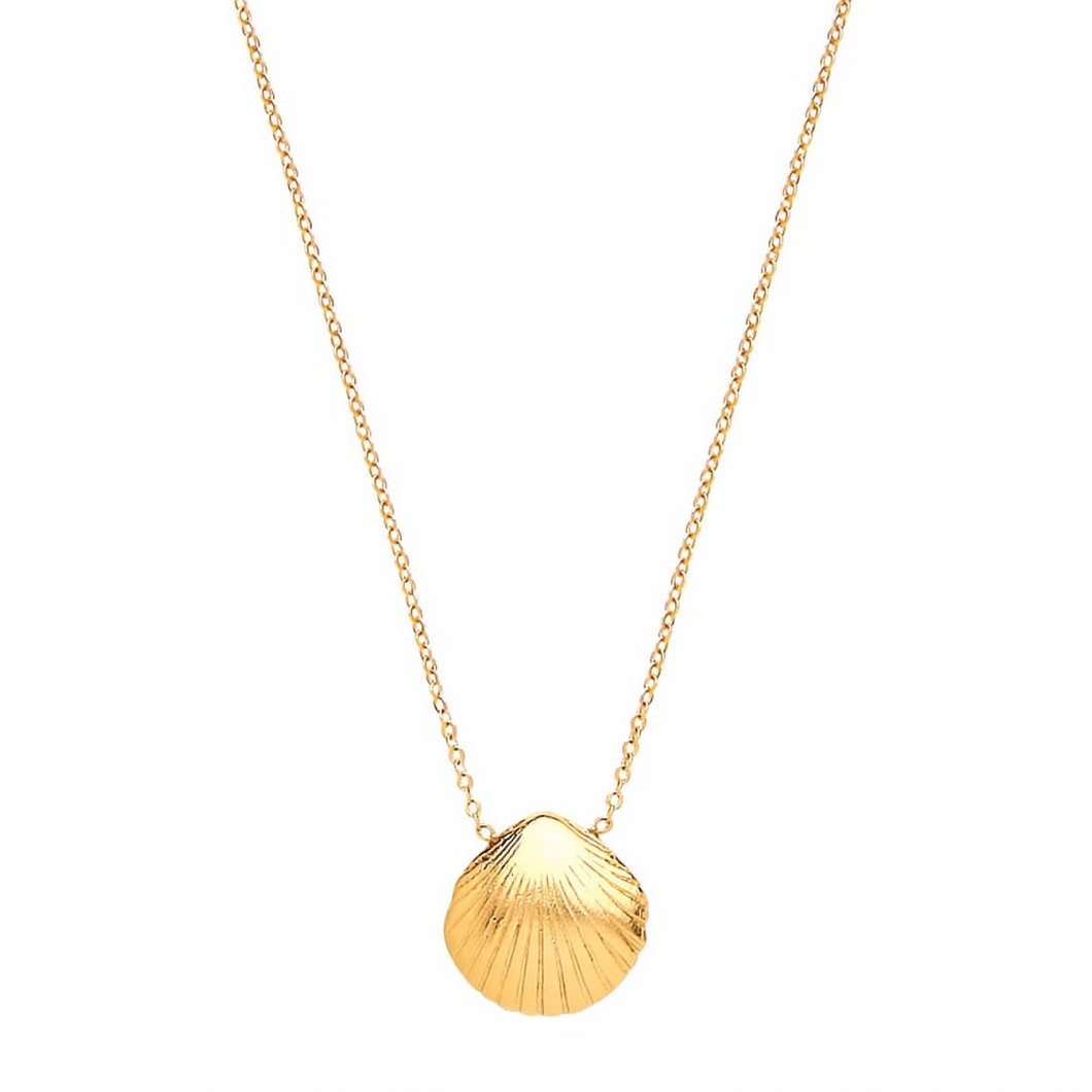 OTTOMAN HANDS | Seashell Gold Necklace - LONDØNWORKS