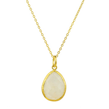 Load image into Gallery viewer, OTTOMAN HANDS | Moonstone Charm Pendant - LONDØNWORKS