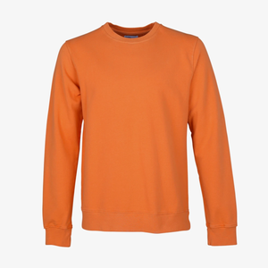 COLORFUL STANDARD | Organic Cotton Sweatshirt | Burned Orange - LONDØNWORKS