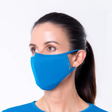 Load image into Gallery viewer, AVIRO | HeiQ Viroblock Antiviral | Reusable Face Mask | Royal Blue - LONDØNWORKS