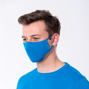 AVIRO | HeiQ Viroblock Antiviral | Reusable Face Mask | Royal Blue - LONDØNWORKS