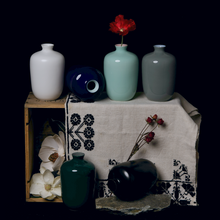 Load image into Gallery viewer, MIDDLE KINGDOM | Plum Nordic Vase | Celadon - LONDØNWORKS