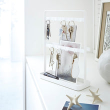 Load image into Gallery viewer, YAMAZAKI | Smart Keys Stand | White - LONDØNWORKS