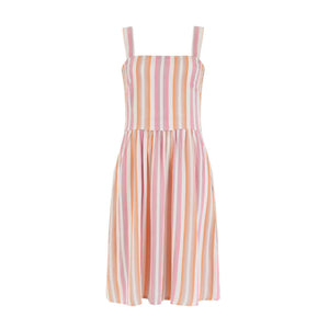 SUGARHILL | Queenie Ombre Stripe Sundress | Multi - LONDØNWORKS