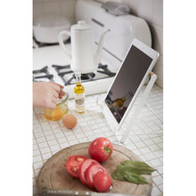 Load image into Gallery viewer, YAMAZAKI | Cookbook & Tablet Stand | White - LONDØNWORKS