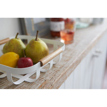 Load image into Gallery viewer, YAMAZAKI | Tosca Fruit Basket | White - LONDØNWORKS