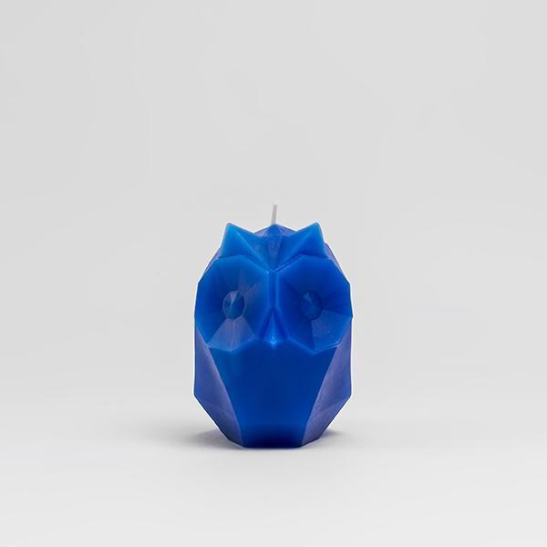 Copy of PYROPET | Ugla Owl Candle | Electric Blue - LONDØNWORKS