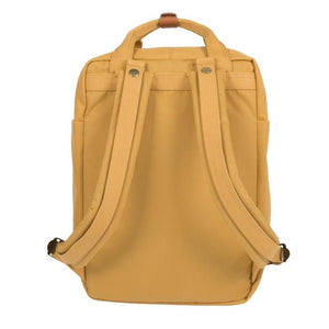 DOUGHNUT BAGS | Macaroon Backpack | Yellow - LONDØNWORKS