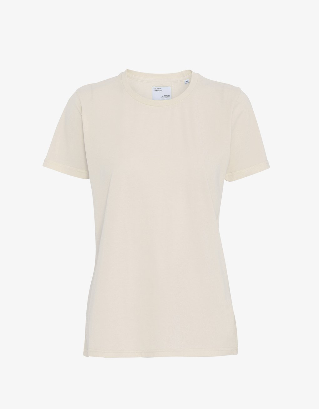 COLORFUL STANDARD | Women Organic T-shirt | Ivory White - LONDØNWORKS