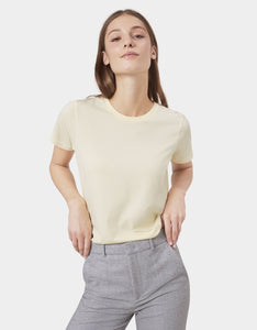COLORFUL STANDARD | Women Organic T-shirt | Soft Yellow - LONDØNWORKS