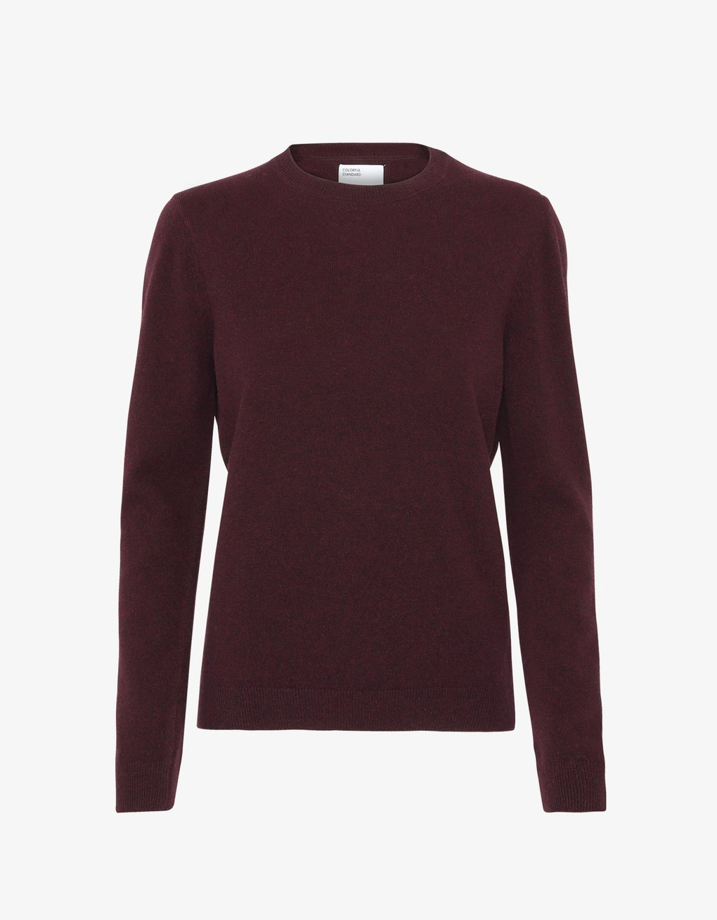 COLORFUL STANDARD | Light Merino Wool Crewneck | Oxblood Red - LONDØNWORKS