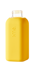Load image into Gallery viewer, SQUIREME | Glass & Silicon Bottle | Yellow - LONDØNWORKS