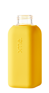 SQUIREME | Glass & Silicon Bottle | Yellow - LONDØNWORKS