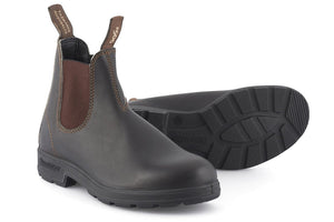 BLUNDSTONE |Stout Brown 500-201 | Black/Brown
