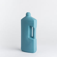 Load image into Gallery viewer, MIDDLE KINGDOM | Motor Oil Bottle Vase Ceramic | Ocean - LONDØNWORKS